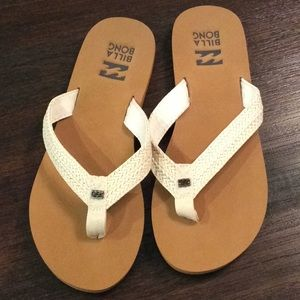 NWT BILLABONG Kai Womens Sandals natural size 7